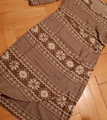 Orsay strukirana zimska haljina