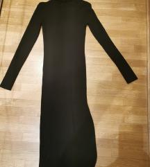 Crna rolka haljina
