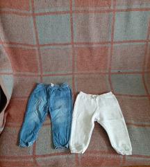Decije pantalone 2 kom razmena