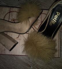 Novo! Chic cipele sa krznom