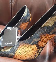 Mango animal print cipele