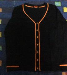 Crno narandzasti set