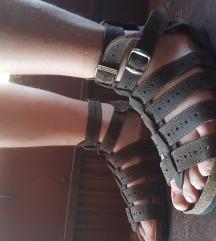 Sandale rimljanke, 39, Grubin, kao nove, braon