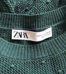 Zara zelena končana bluza