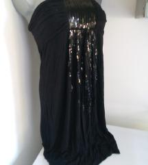 Vivi crna top haljina S/M