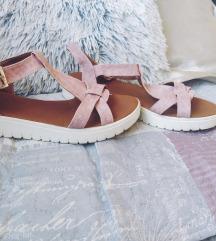 Puder roze sandale 38