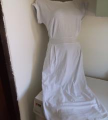 Nova bela pamucna haljina S/M
