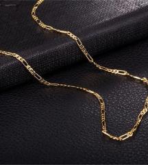 ogrlica 18k pozlata sa zigom