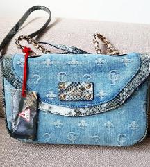 Guess teksas torba sa zmijskom kozom NOVO!