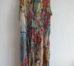 Svilena haljina za leto velicina M
