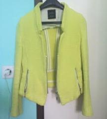 Zara sako jaknica, neon boje.