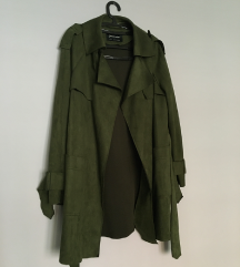 Zeleni mantil od lažnog antilopa
