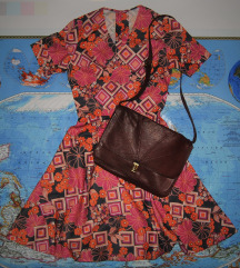Šarena vintage haljina. Veliko sniženje.