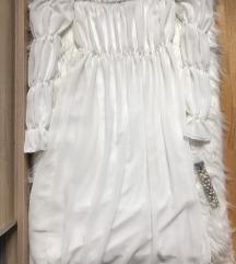 Bela namreskana til haljina NOVA