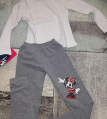 Helanke i bluzica za devojcice 7,8,9 god