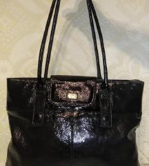 Mona - lakovana kožna XL torba
