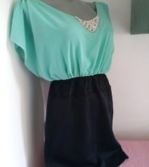 Mint crna haljina S/M