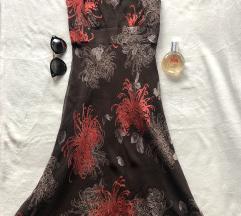 JOHN ROCHA NOVA svilena dizajnerska haljina 10 S