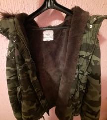 Bershka jakna military