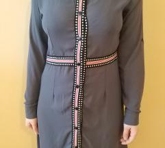 Siva moderna haljina
