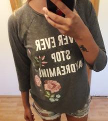 H&M flowers majica