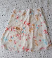 H&M suknja prelep, letnja, lagana