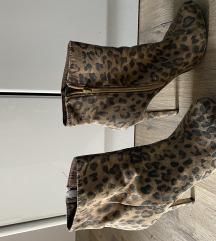 Leopard print cizmice kratke
