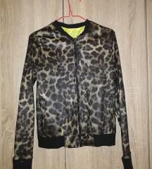 Jakna leopard print