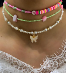 Ogrlice rucno pravljene