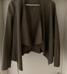 Zara jaknica od eko kože