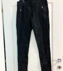 Helan elastične pantalone sa radom