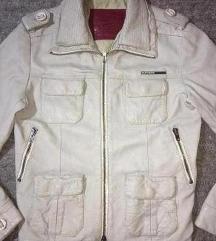 Superdry original krem muska kozna jakna