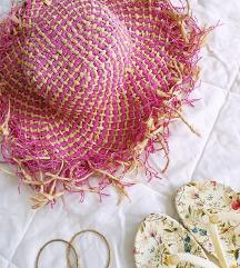 Slamnati šešir za plažu 🌞🌴