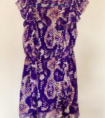 Letnja svilena haljina