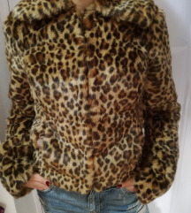 Moderna leopard bunda vel. 34-Snizeno