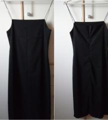 Elegantna haljina, bretele sa cirkonima