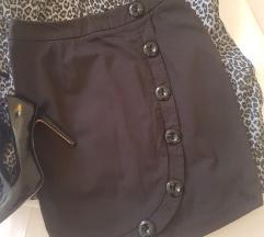 Pepe jeans crna suknja