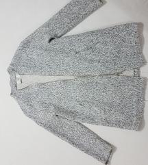 Sivi melirani kaput
