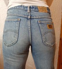 Vintage retro mom jeans farmerke