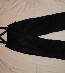 Crne ski pantalone vel. 146 / 152 - kao nove