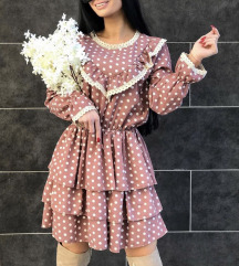 Leprsava haljina sa cipkom  NOVA REZ.