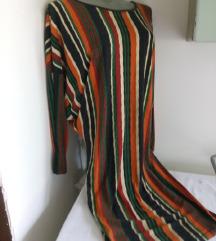 Pro pin grande vesele pruge haljina M/L
