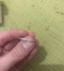 Pandora srebrni prsten s cirkonima