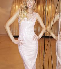 Prelepa jednom obucena haljina sa esarpom
