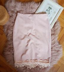 Roze suknja M/L