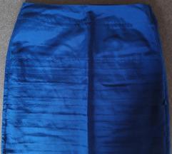 H&m suknja plava 38