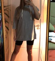 Sivi Zara duks sa kapuljacom