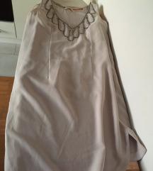 H&M lepa haljina sa vezenim perlicama, 36