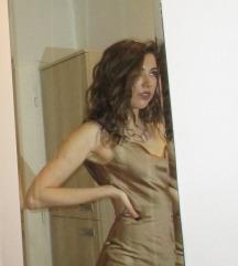 Slip satenska haljina