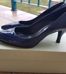 Teget italy kozne cipele, kao nove, SADA 4000